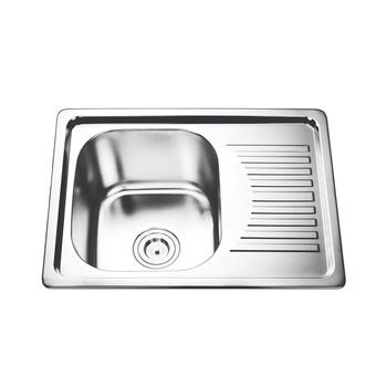 Langsung Jual Pabrik Single Bowl Standar Kitchen Sink Ukuran