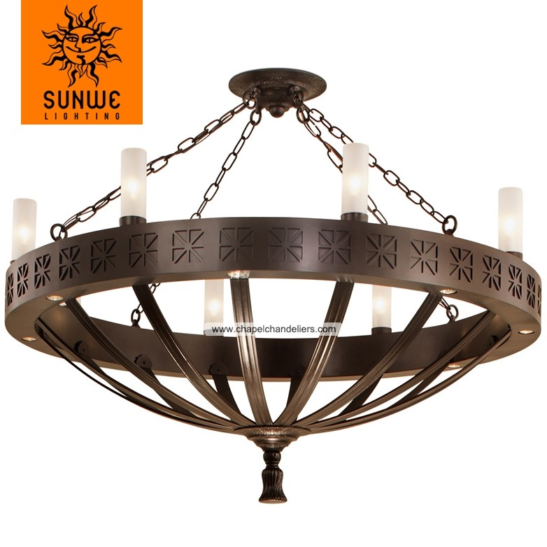 Empire style lighting new product Large chandelier for church