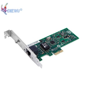 Diewu intel82574 PCI express x1 PXE boot gigabit lan card for PC network