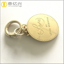 fashion promotional gift letter K metal keychain alphabet funny keyrings