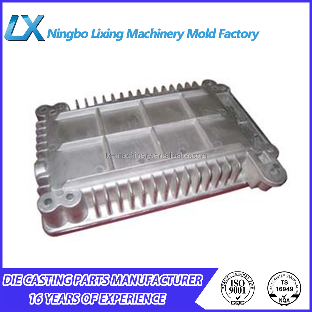 Various style aluminum alloy die castings housing parts