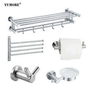Home&hotel whole sale amazon best sellers toilet paper holder with suction cup fixed 304 stainless steel bathroom accessories