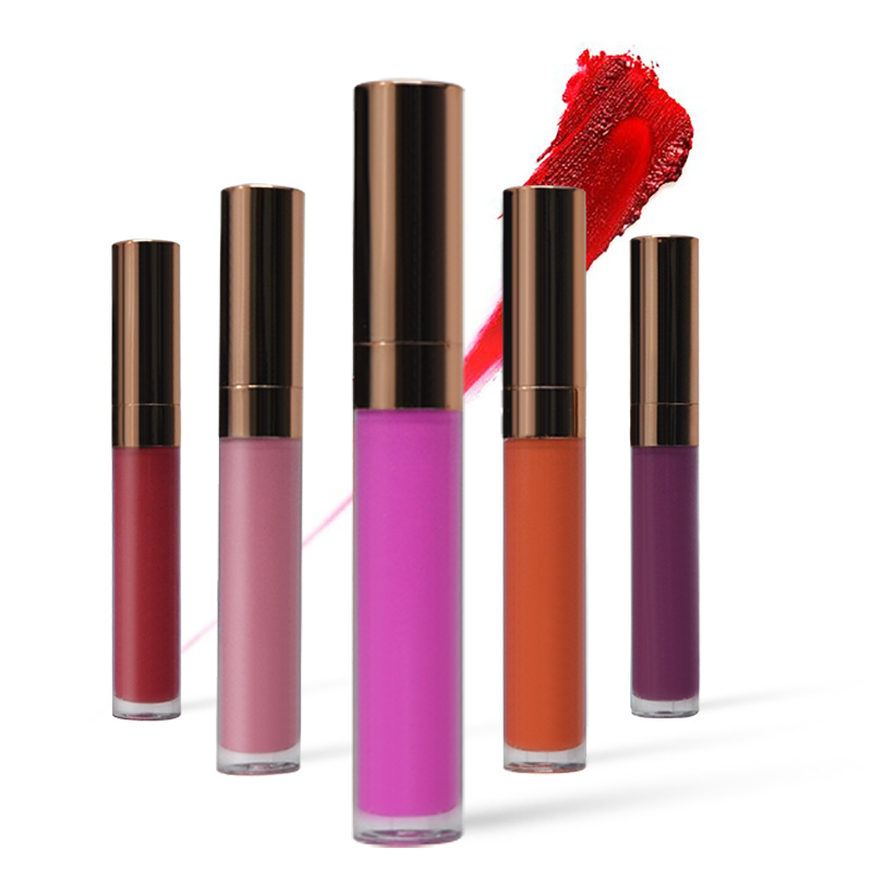 Fashion Waterproof Wholesale Liquid Matte Lipstick Private Label In 24 Hours