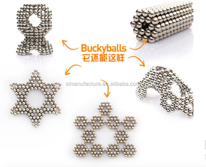 Bucky balls D5mm Magic Beads 3D Puzzle Ball Sphere Magnetic Toy