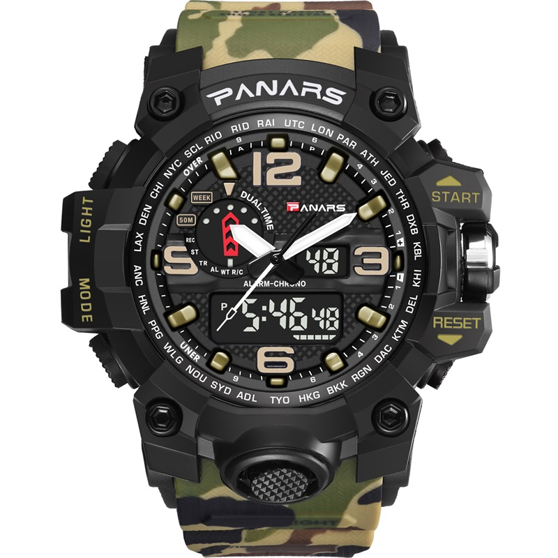 Digital Watches Imported From Abroad Skmei Brand Mens Sports Watches 5atm Digital Outdoor Men Military Watch El Backlight Compass Wristwatches Reloj Hombre 2017 Ideal Gift For All Occasions Men's Watches