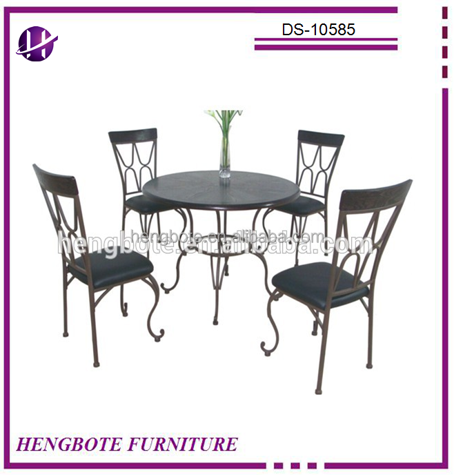 4 Seats Home Furniture Dining Table and Chair Antique Dining Table Set