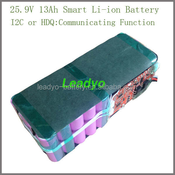 lithium ion Battery Pack for Electric Vehicle 25.9V13Ah