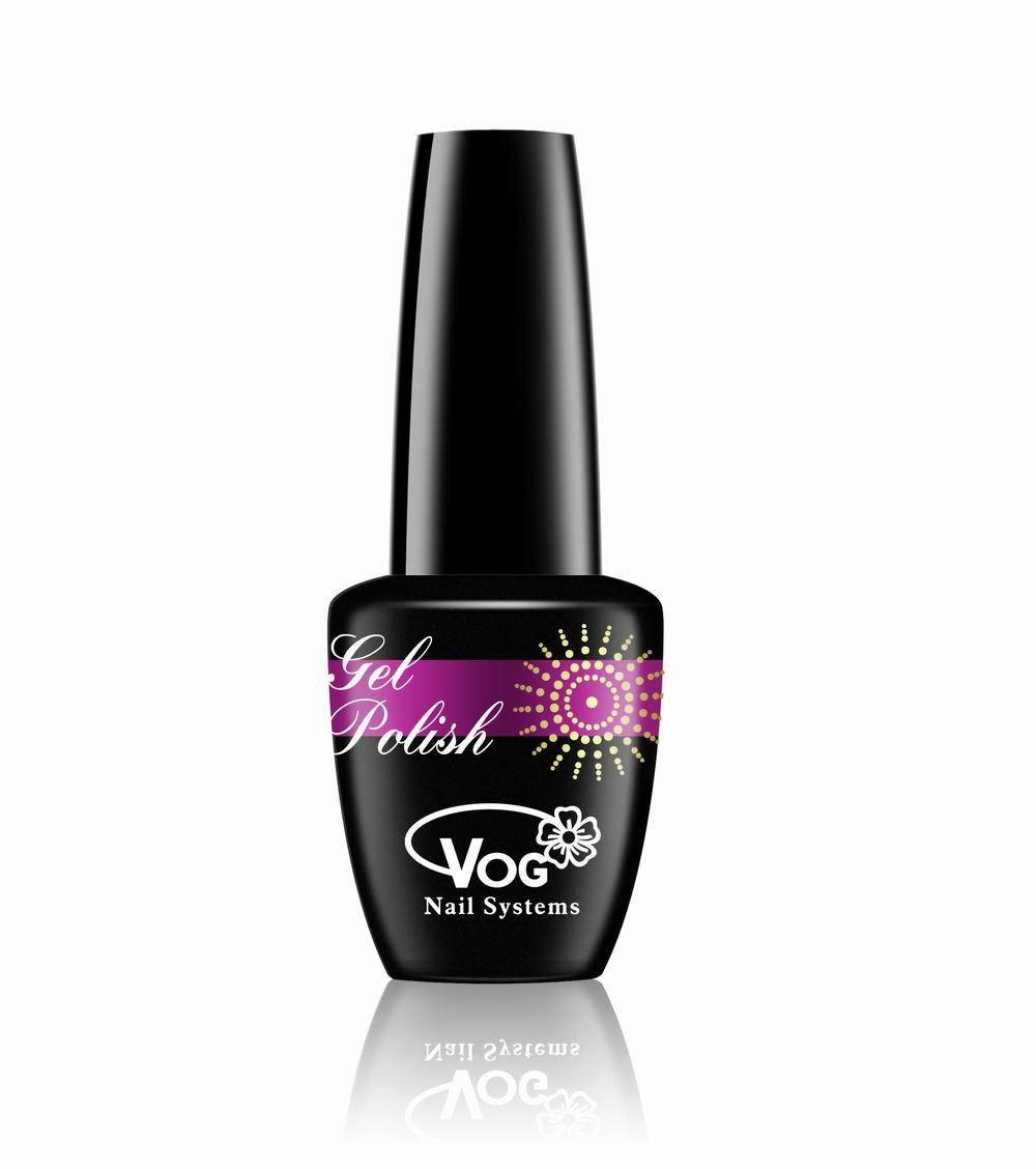 free shipping 6pcs VOG fashion color nail gel to cure in the lamp 15ml 268 colors