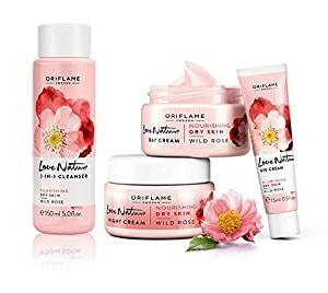 Love Nature Wild Rose Facial Set