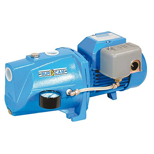 BurCam 506121S  Shallow Well Cast Iron Jet Pump, 1/2 hp, 115V/230V