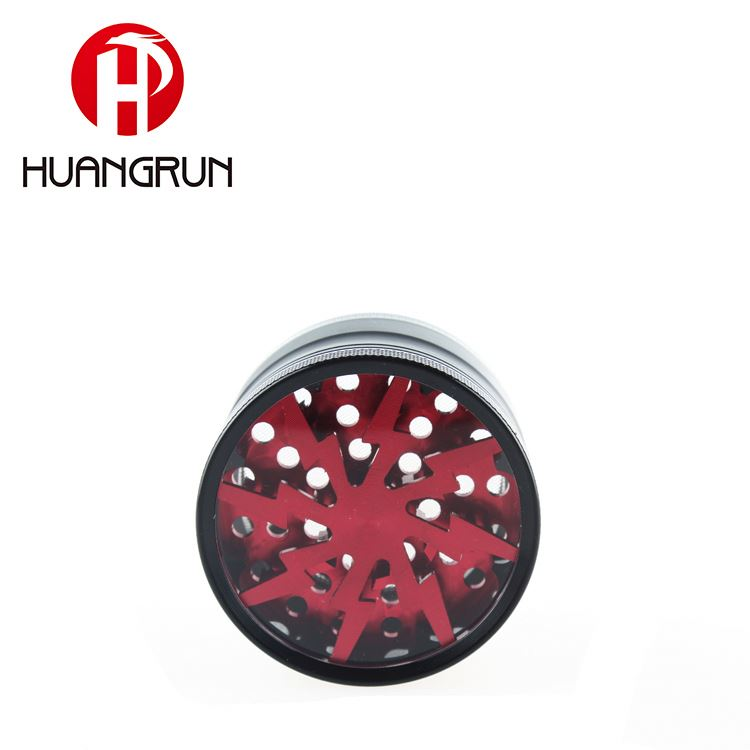 Hot Selling China Manufacturer Cigarette Accessories Fancy Zinc Dry Herb Grinder Tobacco Spice Grinder