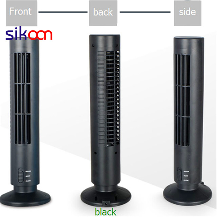 USB Bladeless Tower Fan With Eva Mat For Promotional Gift