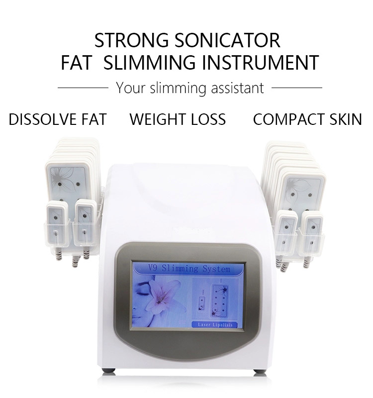 Weight Loss Beauty Strawberry Latest Diode Lipo Body Slimming Laser Skin Treatment Machine