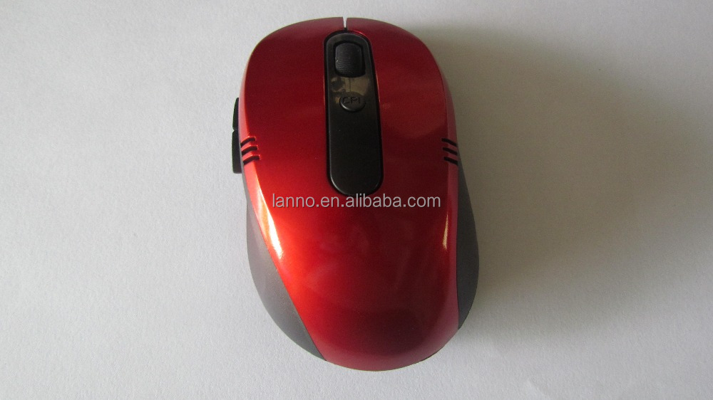 High Speed Optical Mouse Cheap Ergonomical 2.4G Optical Mouse Wireless for PC and Laptop