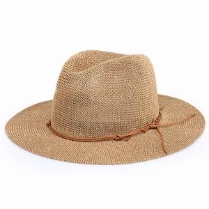 56c9274b3ca72 S3488 fashion 2018 women girls outdoor ecuador paper panama hats with rope  band