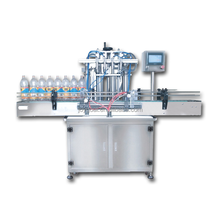Automatic high-accuracy beverages mini glass bottle filling machine