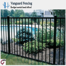 Good Quality Powder Coated Steel Fence