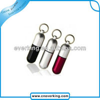 USB 2.0 pills shaped usb flash drive with metal case