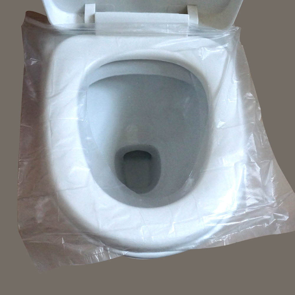 plastic toilet seat covers. Disposable Plastic Pocket Toilet Seat Cover for Airline Travel Pack For