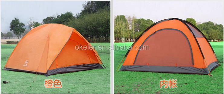 Double-door Double-layer 3to r4 Person OUTdoor Waterproof Big Camping Tent