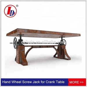 Hand wheel screw jack for Crank Table or Desk