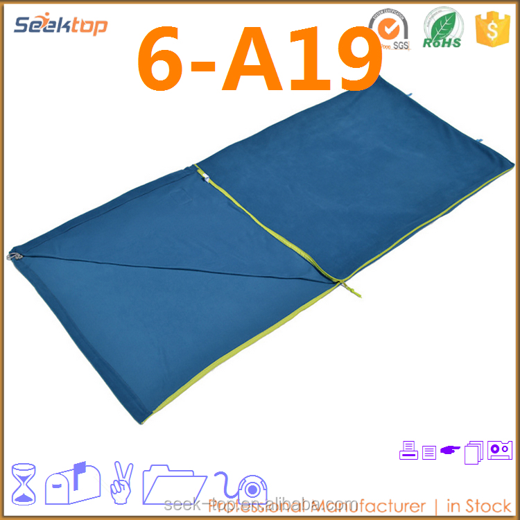 2016 China Best Selling Mini Camping Outdoor Double Sleeping Bag Silk Liner