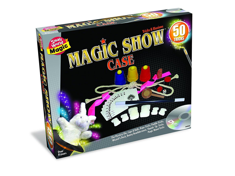 Small World Toys Magic - Magic Show Case 50 Tricks Trick Product