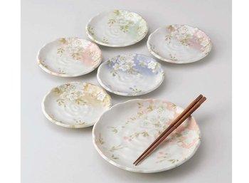 SAKURA 6pcs plate party set  sc 1 st  Alibaba & Sakura 6pcs Plate Party Set - Buy Dining Plate SetSakura Plate Set ...