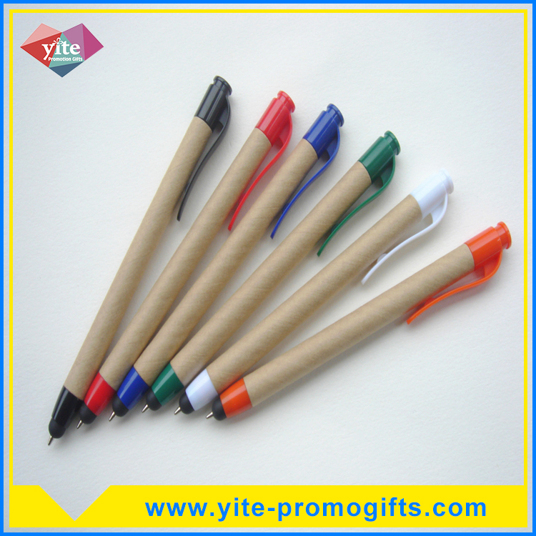 Hot sale recycled wooden ball pen