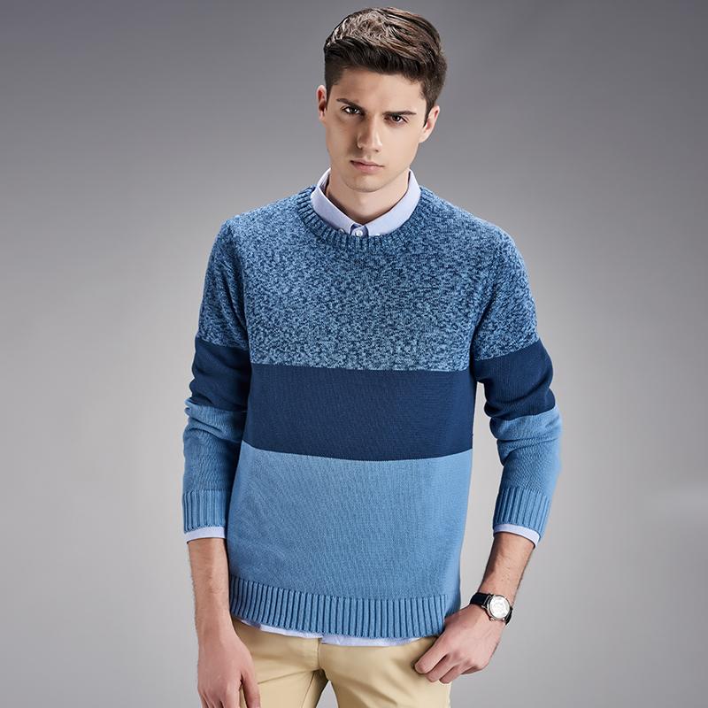 Compra patrones que hacen punto el suéter para hombre