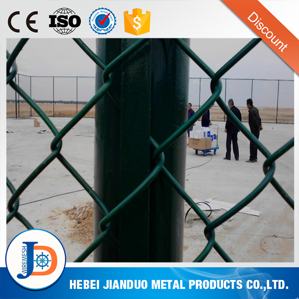 Professional supplier 11 gauge chain link fence with post