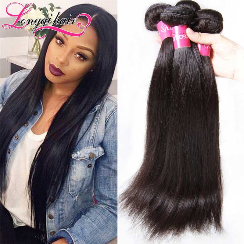 Wholesale High Quality 100% Virgin Indian Hair Natural Raw Silk Straight Hair Extension