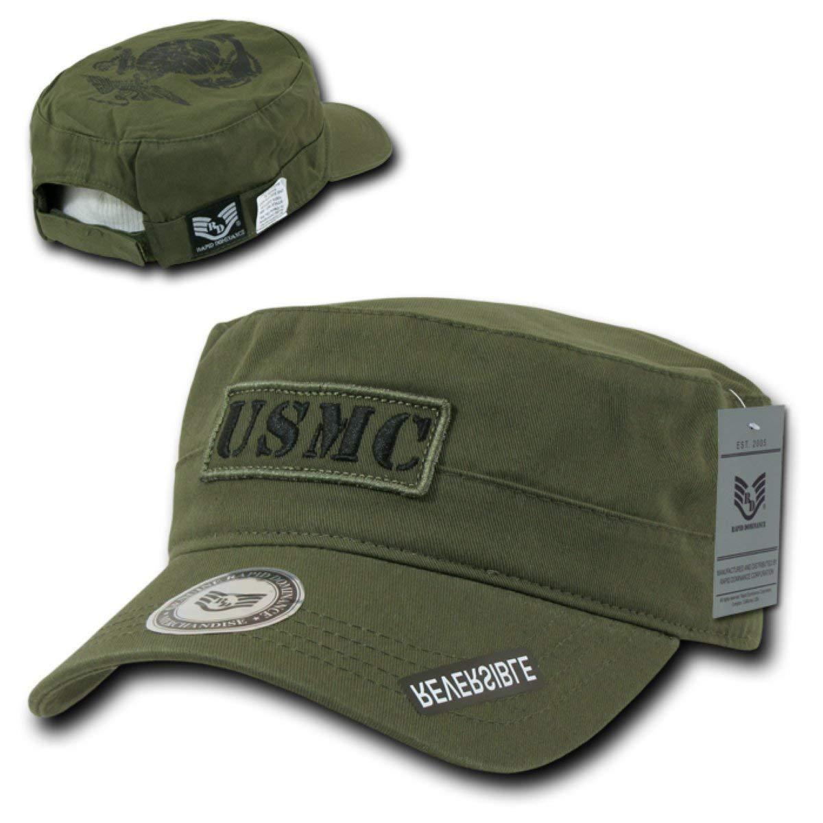 cf64125d0bf Get Quotations · Rapid Dominance Cadet Reversible Vintage Reversible Military  Cap USMC