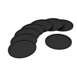 non-slip silicone coffee table bar pot tamp tamper tamping mat Coaster Espresso Tamper Mat