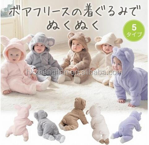 walson hot sale New Newborn Baby Clothes Sets Girl Boy clothes Romper Winter Outwear Outfits baby jumpsuit onesie animal Baby