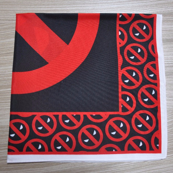 kids bandana polyester square wholesale red black skull cool bandana black blue red bandana