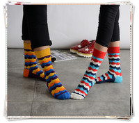Custom Colour Pastel Wave Socks New Casual Crew Socks Design Mutuli Colour Fashion Dress Men's Cotton Socks