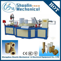 High quality parallel paper tube machine with lowest price
