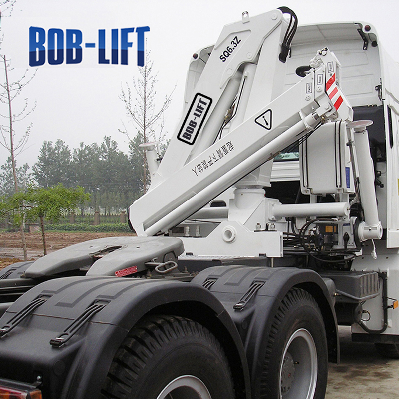 Conventional Flatbed Tow Truck Mounted Crane for Sale