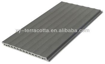 White Aluminium Panel : New material terracotta facade tiles aluminium panel view