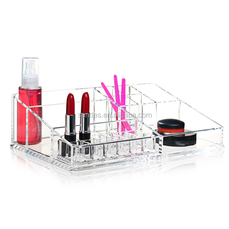 Stylish Elegent Acrylic Drawer Dividers Clear Square Plastic Drawer Dividers