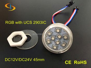 hoge kwaliteit led verlichting auto kleur veranderen kermis pretpark reuzenrad lamp rgb led pixel lichte