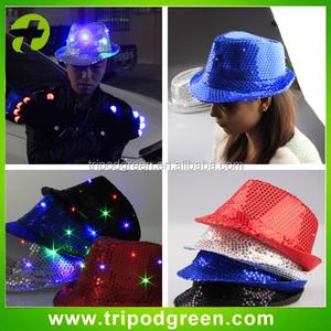 7a95159e07d5a Hats With Led Lights Jazz Hats