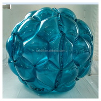 high quality blue big inflatable Bubble Bumper Balls for kids