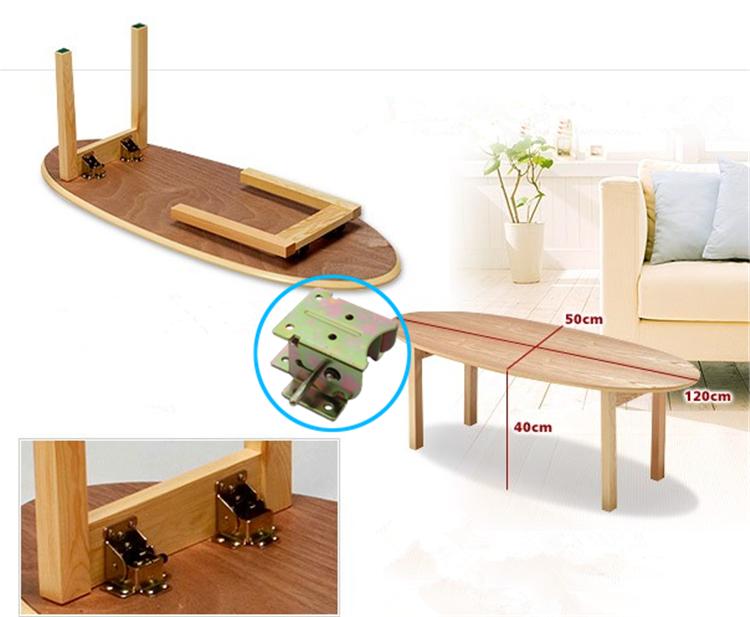 Alibaba expreso 90 grados auto bloqueo patas de la mesa - Bisagras para mesas plegables ...