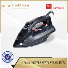 Supplier wholesale 250ml water tank black electric steam irons