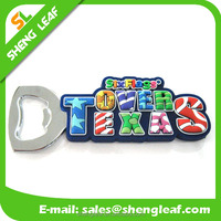 Custom soft pvc rubber bottle opener, soft pvc beer drink bottle opener, 3d logo custom rubber soft pvc drink bottle opener