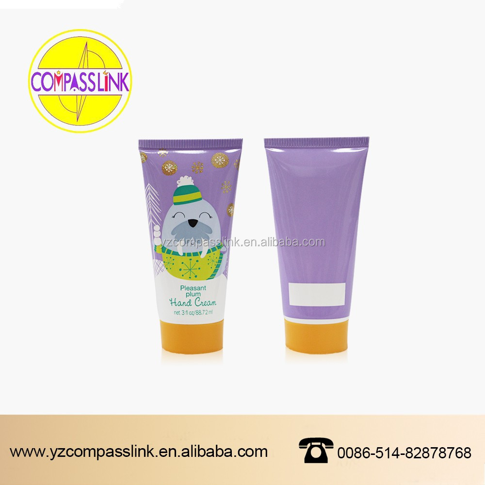 customized dimension soft tube for skin care packaging for you order