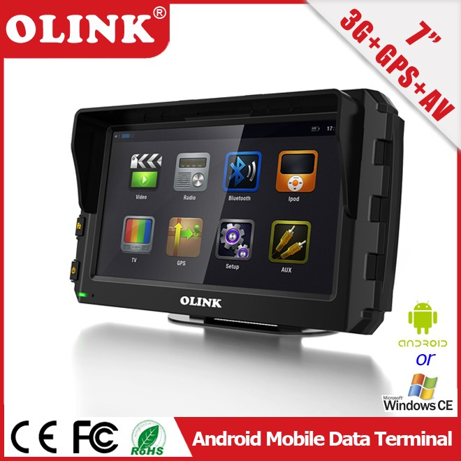 7-inch Android Intelligent In-Vehicle Tablet with RS232, CanBus, 3G, GPS