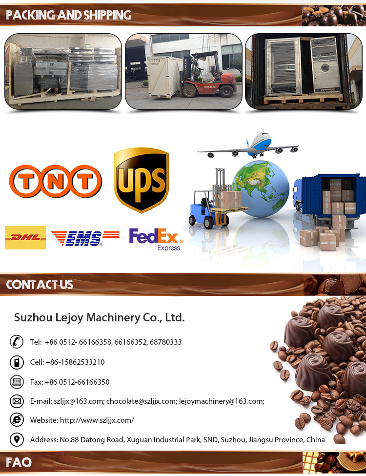 Fully Automatic High Output Chocolate Bean Machine